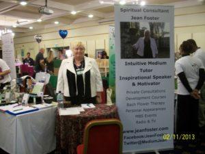 Jean working at Clarendon Suites MBS Event, Birmingham